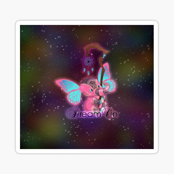 Dream On Magical Elephant Sticker
