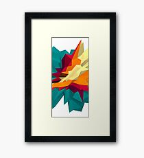 SPIKE III Framed Print