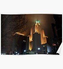 """Superman Building"" Downtown Providence Poster"
