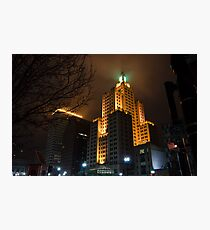 """""""Superman Building"""" Downtown Providence Photographic Print"""