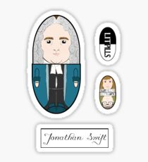 LitPills - Jonathan Swift (Classics Series) Sticker