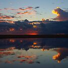 lagoon reflections I by geophotographic