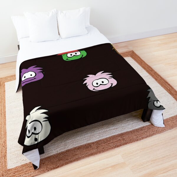 Old Club Penguin Puffles Comforter