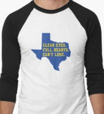 Clear Eyes, Full Hearts, Can't Lose – Friday Night Lights Men's Baseball ¾ T-Shirt