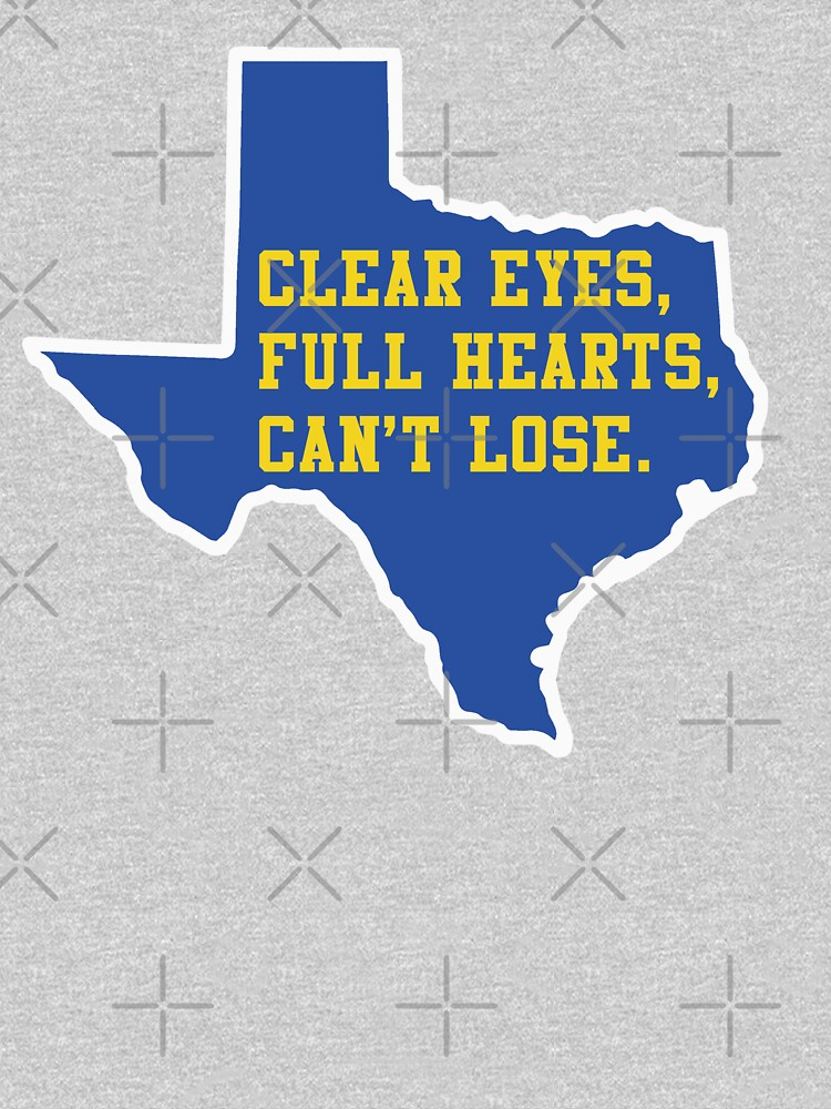 Clear Eyes, Full Hearts, Can't Lose – Friday Night Lights by fandemonium