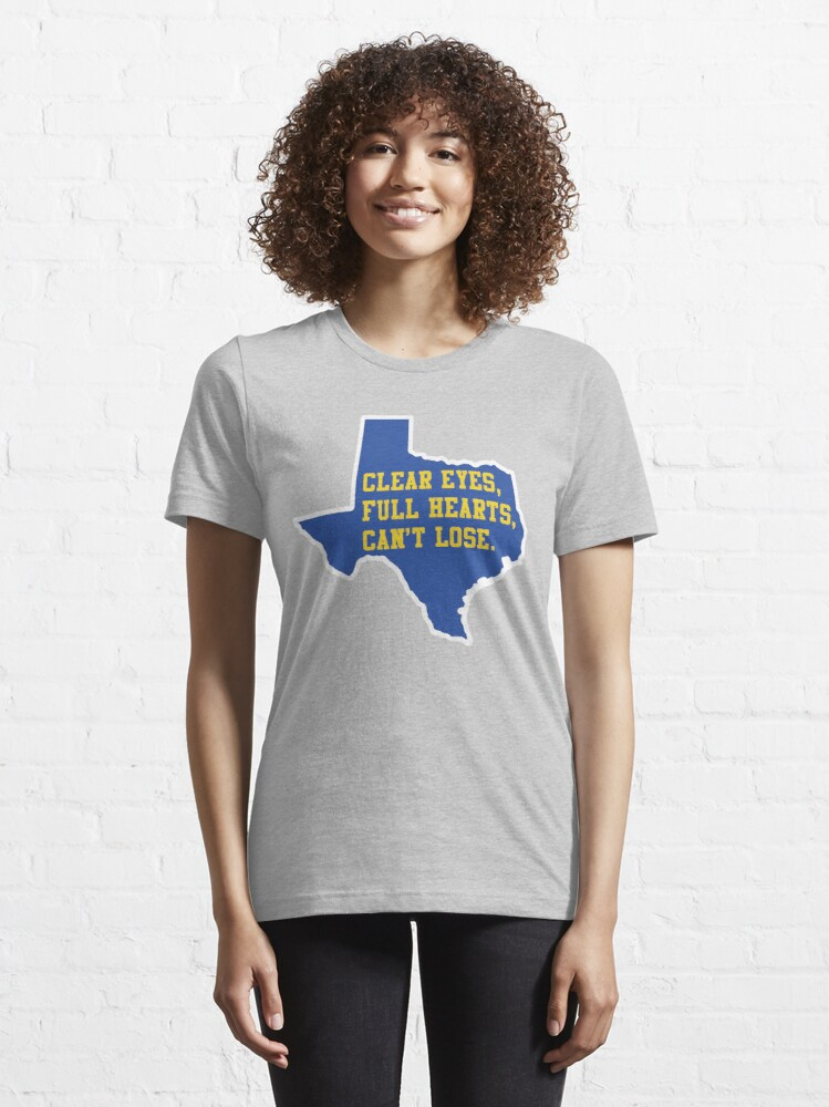 Alternate view of Clear Eyes, Full Hearts, Can't Lose – Friday Night Lights Essential T-Shirt