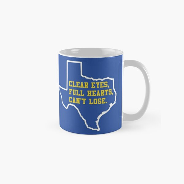 Clear Eyes, Full Hearts, Can't Lose – Friday Night Lights Classic Mug