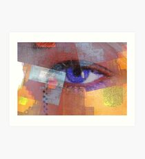 An eye for abstract Art Print