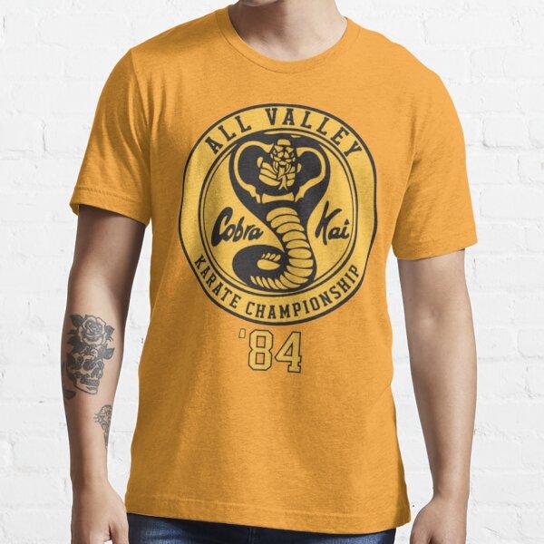 Chemise Cobra Kai Vintage Tri-Blend, T-shirt Kobra Kai 84 Karaté T-shirt essentiel