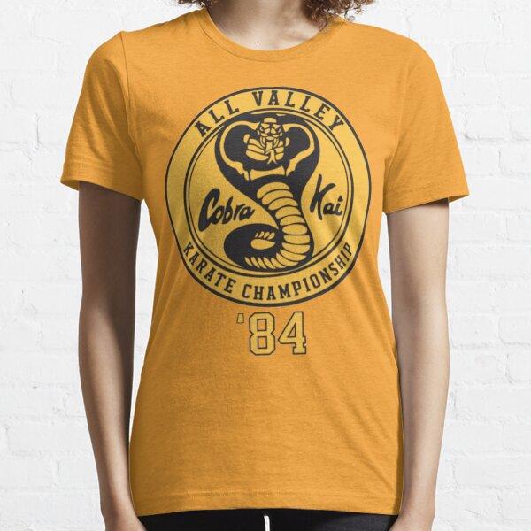 Camiseta Cobra Kai Vintage Tri-Blend, camiseta Kobra Kai 84 Karate Camiseta esencial