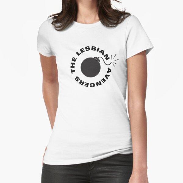 Lesbian Avengers Fitted T-Shirt