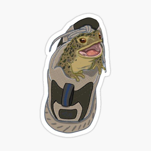 New Kicks for Jabba Sticker