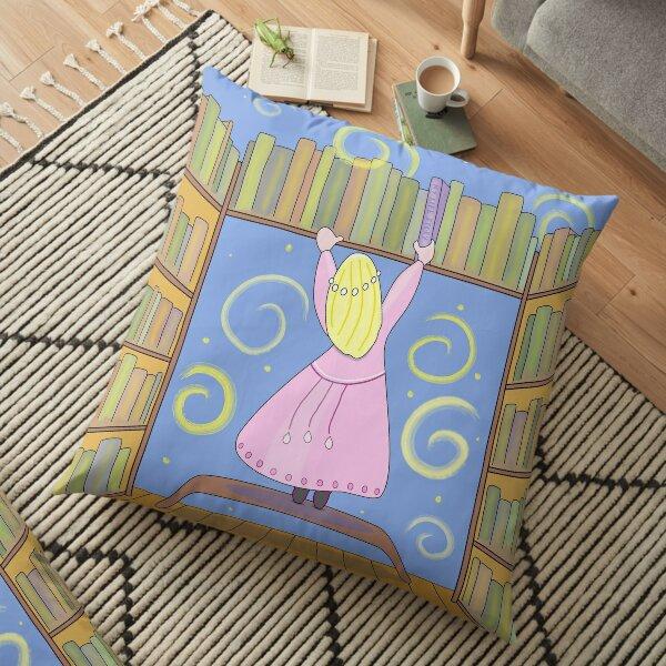My Life Story Floor Pillow