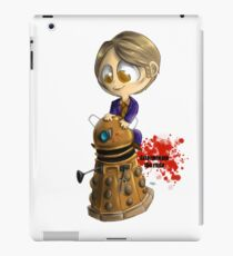 Exterminate the rude iPad Case/Skin