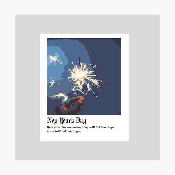 New Year's Day - Taylor Swift Photographic Print