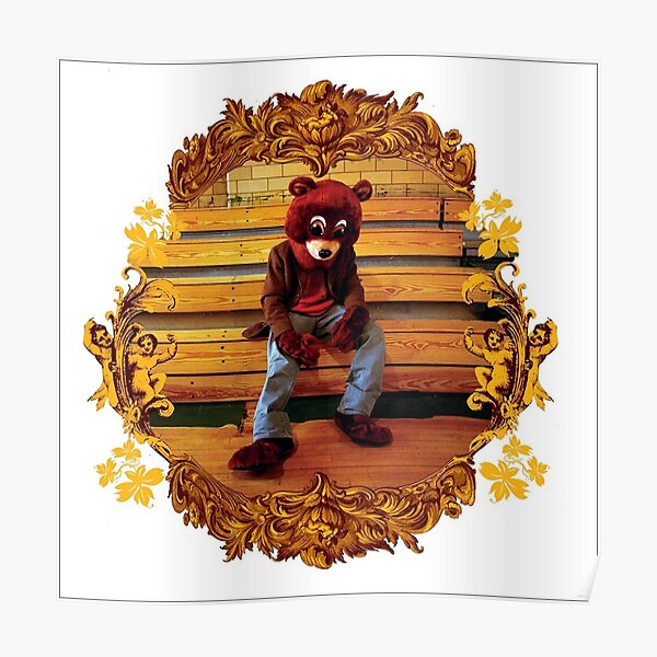 The College Dropout Poster