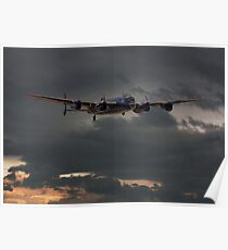 RAF Lancaster - Coming Home Poster