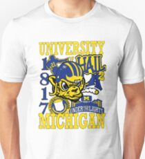University of Michigan - in Color Unisex T-Shirt