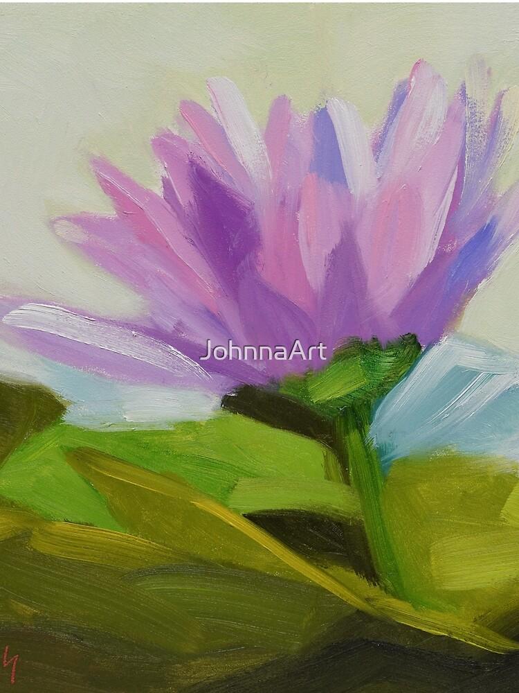 Hot Pink Waterlily by JohnnaArt