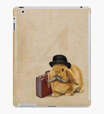 Commuter Bunny iPad Case/Skin
