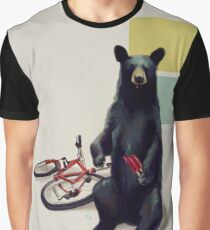Summer Bear Graphic T-Shirt