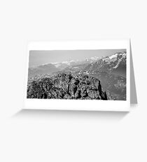 Mountain Landscape 9 Canada  Greeting Card