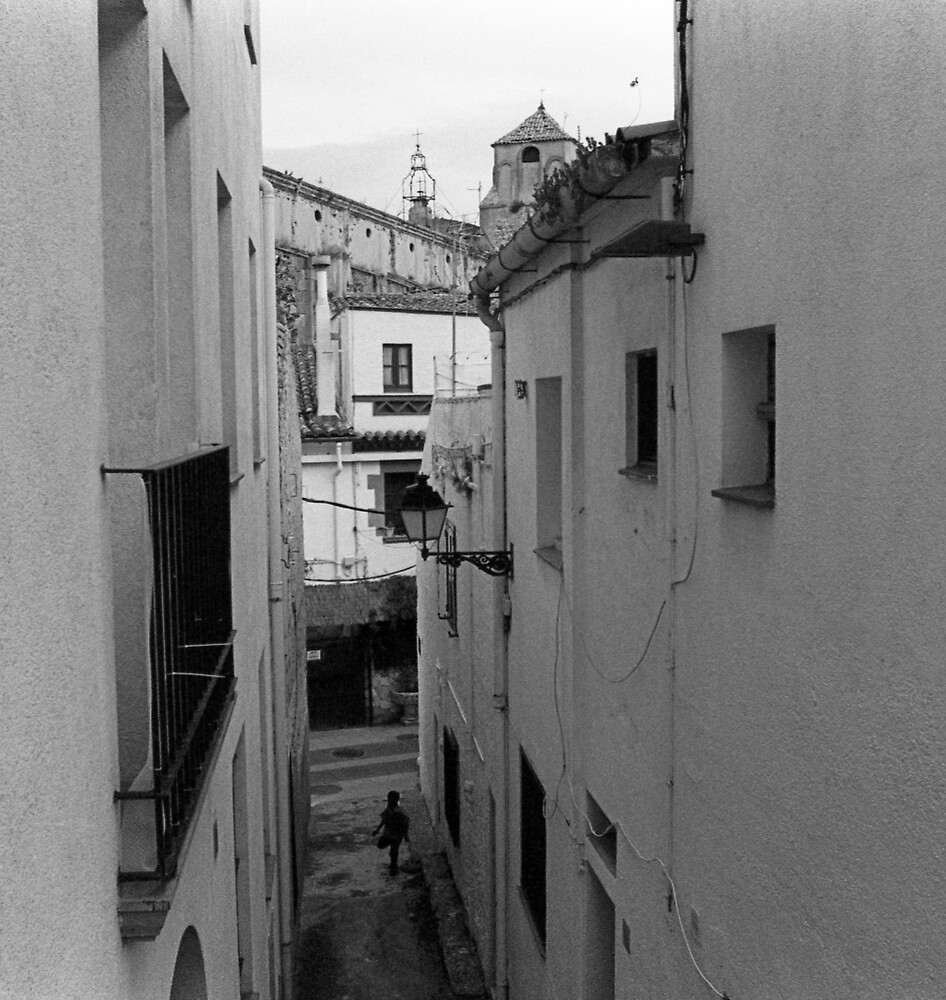 Walking through a Narrow Alleyway by James2001