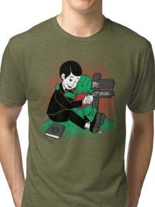 Winnie the Thulhu Tri-blend T-Shirt