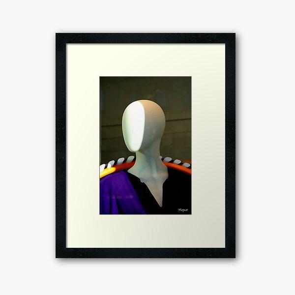 MADELEINE N°4 Framed Art Print