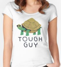 tough guy Women's Fitted Scoop T-Shirt