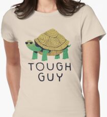 tough guy Womens Fitted T-Shirt