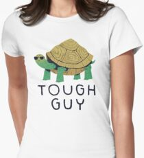 tough guy Women's Fitted T-Shirt