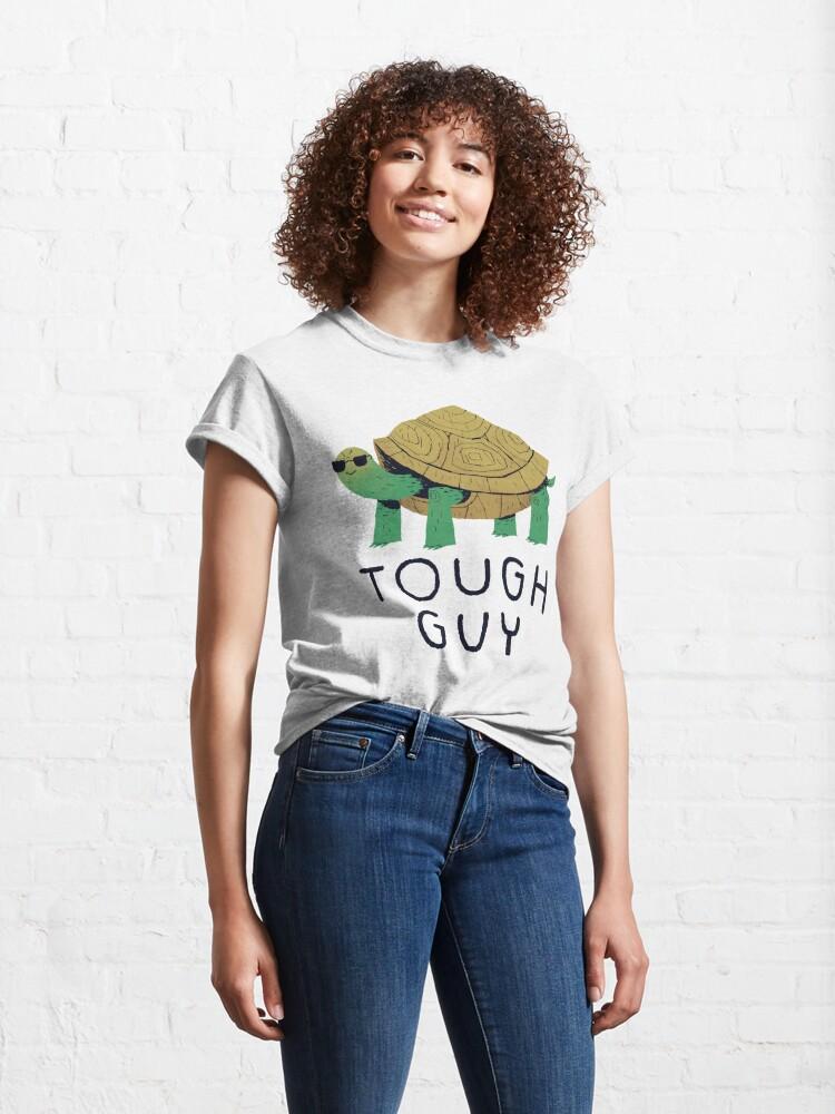 Alternate view of tough guy Classic T-Shirt