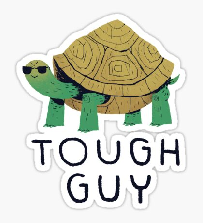 tough guy Sticker