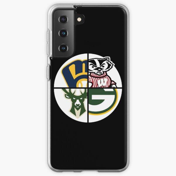 Sports du Wisconsin Coque souple Samsung Galaxy