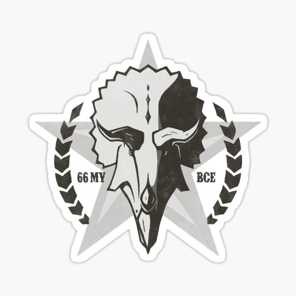 Triceratops Rodeo  Sticker