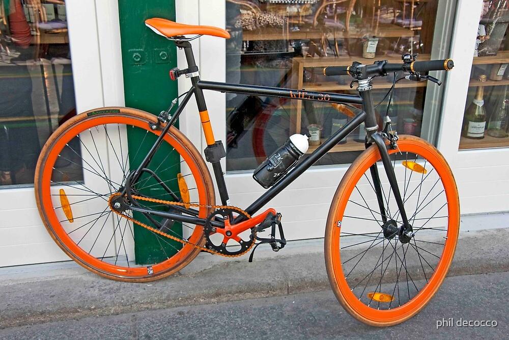 Orange Racer by phil decocco