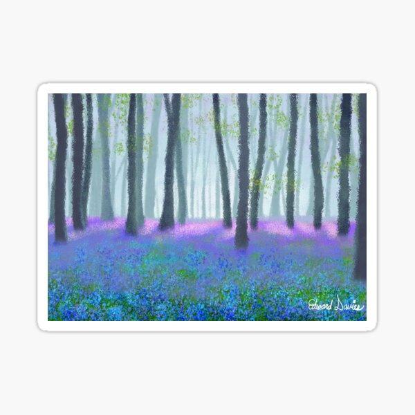 Bluebell Woods Sticker