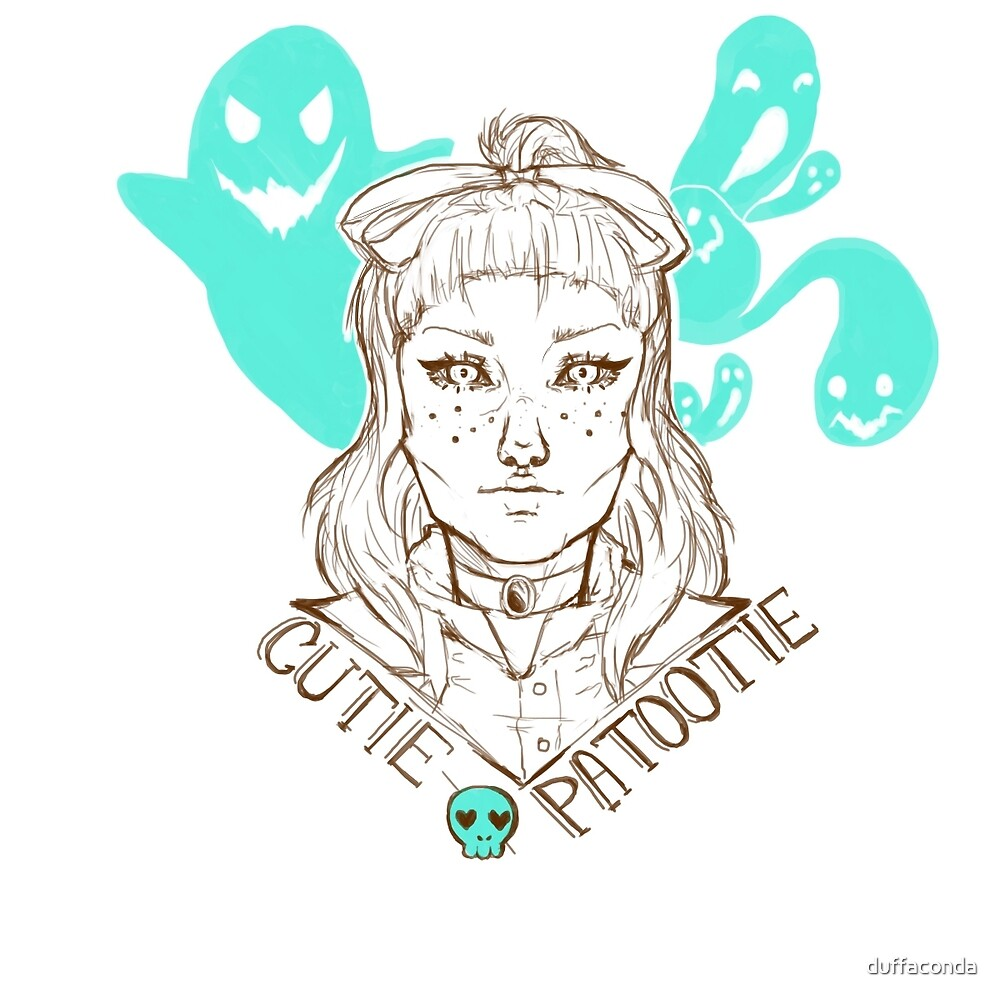 Spooky Cutie Patootie by duffaconda