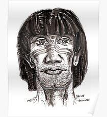 Prehistoric Native Poster