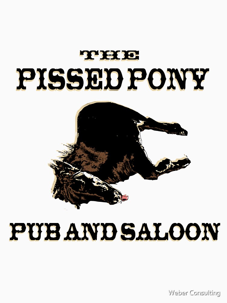 The Pissed Pony Pub and Saloon by HalfNote5