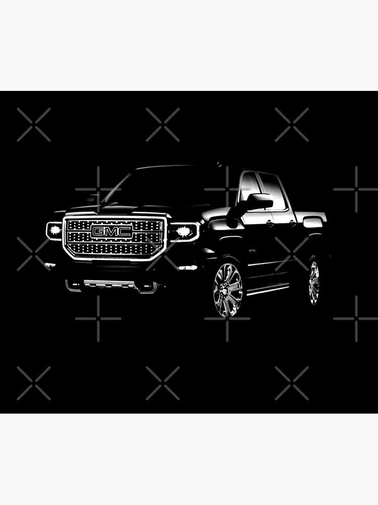 gmc, gmc truck, gmc Sierra Denali by hottehue