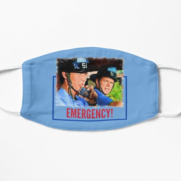 Emergency Paramedics Flat Mask
