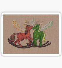 Rocking Horseflies Sticker