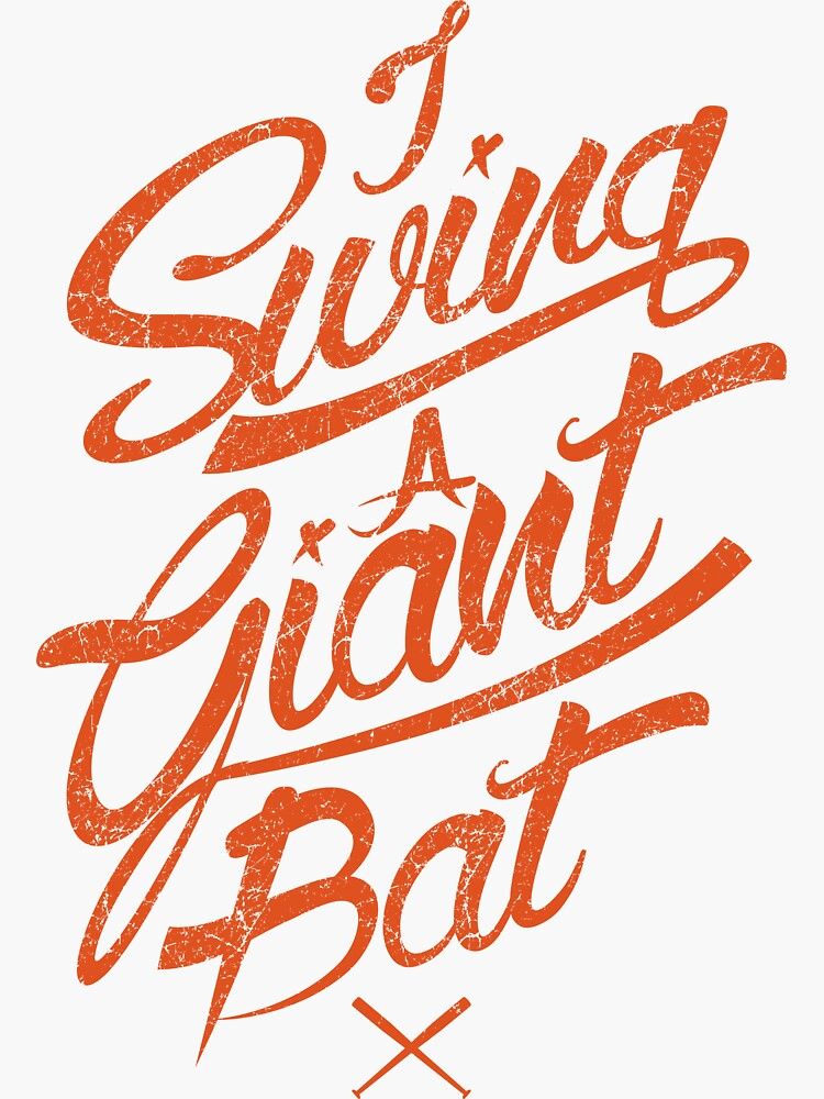 SAN FRANCISCO GIANT SWING by OrganicGraphic