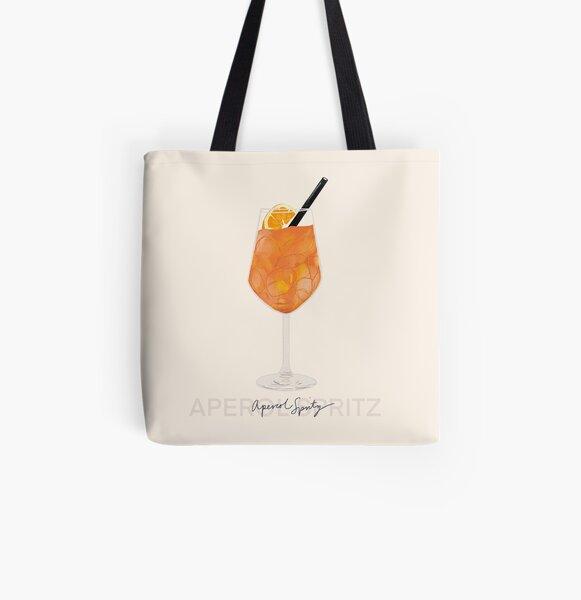Impression d'Aperol Spritz Tote bag doublé