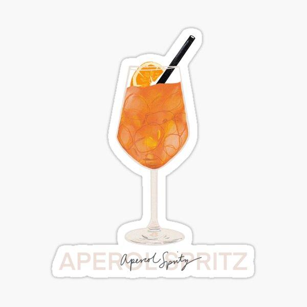 Aperol Spritz Print Sticker