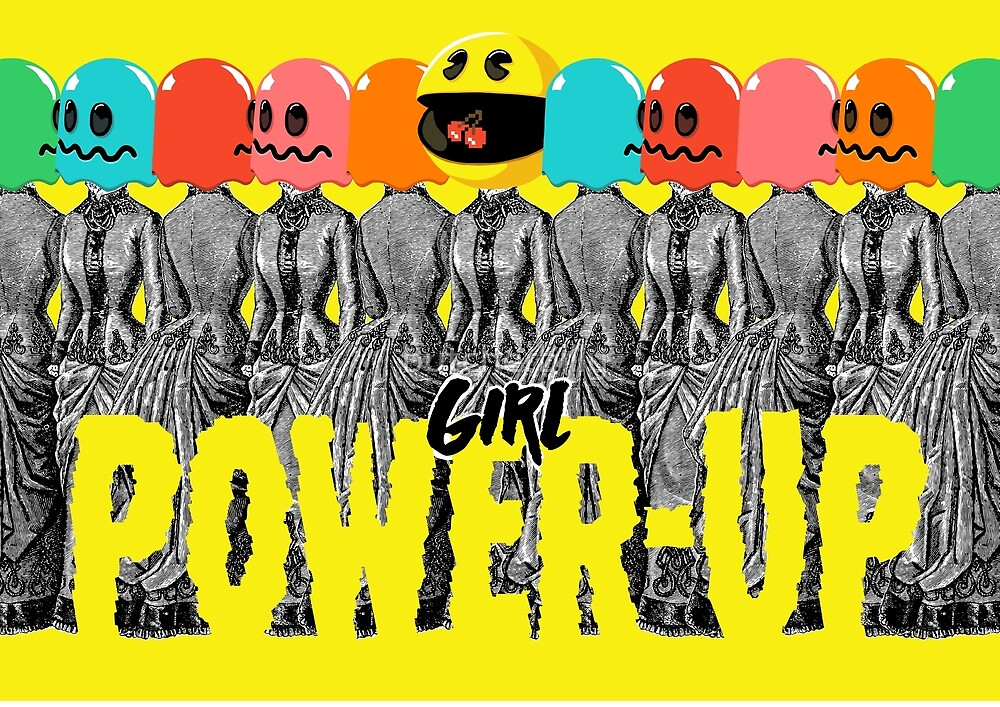 Girl Power-Up by butcherbilly