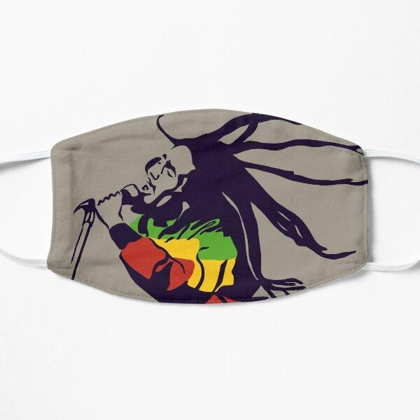 Bob Marley - The King of Reggae Flat Mask