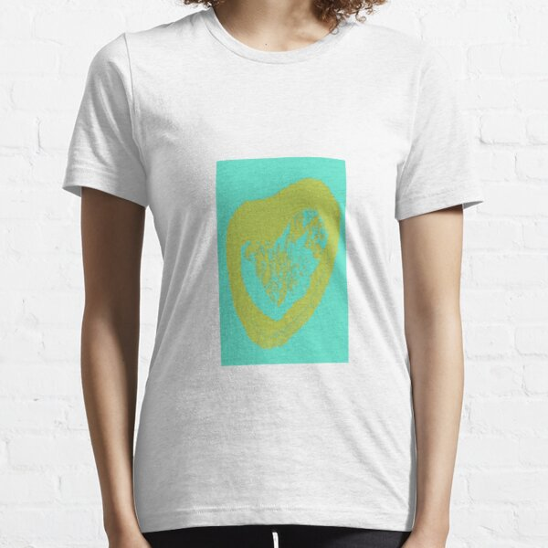 Blue heart graphics Essential T-Shirt